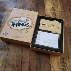 Nasty Things Card Game for Adult Parties